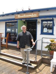 Michael Jordan Beachcomber Restaurant Malibu