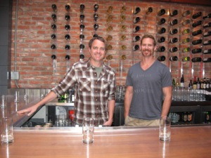 Jason McEtee and Greg Seares Bodega Wine Bar