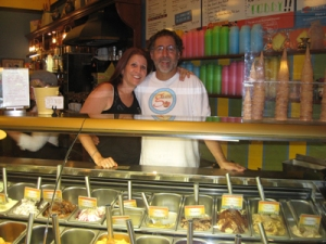 Gail Silverton and Joel Gutman Gelato Bar and Espresso Caffe
