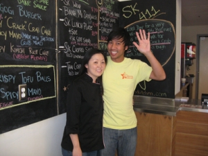Nguyen Tran and Thi Tran Starry Kitchen Downtown LA