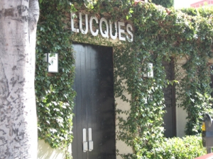 Lucques Melrose Ave Los Angeles